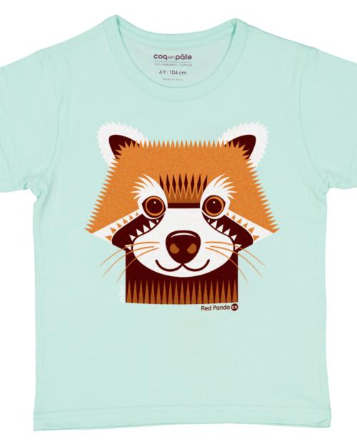 red panda T-Shirt by Coq En Pate