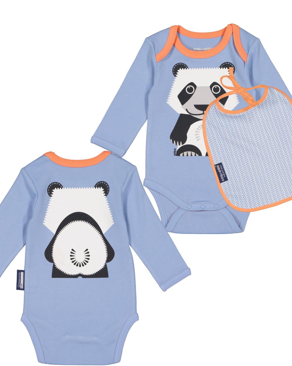 body set panda by coq en pate